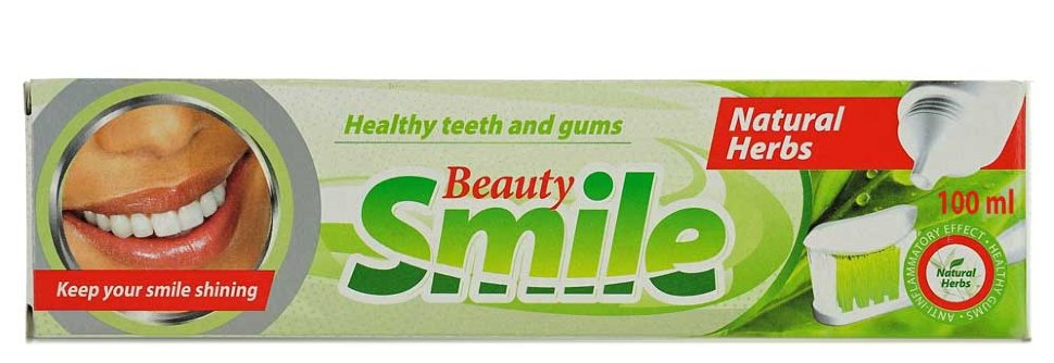 DENTAL Зубная паста Beauty Smile Natural herbs/Beauty Smile Лечебные травы